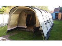 OUTWELL WOLF LAKE 5 POLYCOTTON TUNNEL TENT