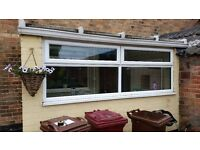 UPVC Window 2750mm x 970mm and lean too roof if interested
