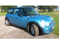 MINI COOPER 1.6 3dr HATCH 2005. STUNNING CONDITION. SERVICE HISTORY. 12 MONTHS MOT.