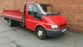 Ford Transit Dropside LWB with Tail Lift