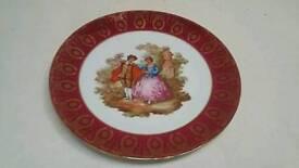 Limoges La Reine A9 plate