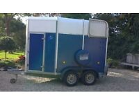HORSEBOX TRAILER VERY GOOD CONDITION MOSTLY USED FOR CARRYING FURNITURE IFOR WILLIAMS 505R