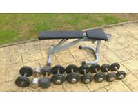Weights and weight dumbbells set