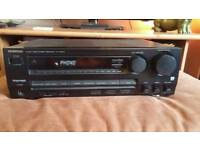 Kenwood kr-v5570 audio video stereo receiver amplifier with phono input