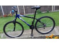 "MENS GENTS ADULTS GIANT ROCK 26"" WHEEL 18"" FRAME 18 SPEED SUSPENSION BIKE BICYCLE"