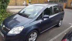 Vauxhall Zafira 1.6 i 16v Exclusiv 5dr