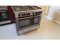 £400 Kenwood 5 gas hob cooker double oven
