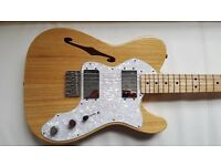 FENDER Classic Series '72 TELECASTER® THINLINE - mint condition, like new