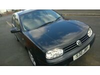 Volkswagen Golf Black Mk4 1.8 GTi 16V Petrol 12 months MOT service history £650
