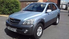 KIA SORENTO LOW MILAGE LONG MOT £2350