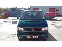 VW T4 Caravelle GLS left hand drive. Well maintained with minor corrosion for age.