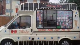icecream van