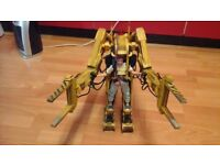 ALIEN POWERLOADER AND RIPLEY HOT TOYS RARE