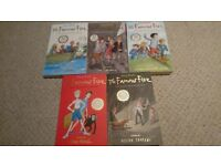 The Famous Five - 5 paperbacks by Enid Blyton - all in nice condition