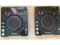 Pair pioneer cdj 1000 mk3 mp3, dj decks 2x