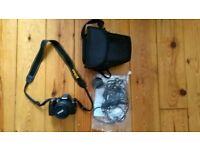 Nikon D3000 + 18-55mm lens + accs : near mint