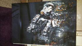 Canvas picture medium/large star wars