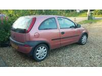 2001 Vauxhall Corsa Club 12V