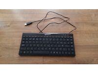 Keyboard in black