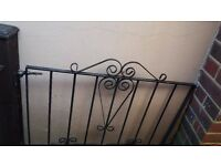 metal / iron garden door 27 GBP