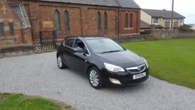 11 REG VAUXHALL ASTRA 2.0 CDTI SE 5DR BLACK LEATHER MOT-19 FSH 2-KEYS OUTSTANDING FREE-DELIVERY L@@K
