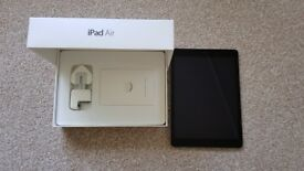 Apple iPad Air 1 Space Grey 16GB WiFi in excellent condition