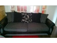 scs sofa and armchair like new