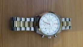 **Look** Xmas bargain Genuine bvlgari mens gold and silver bb 33 ss quartz l 9030 watch £500