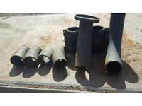 4 inch cast iron drainage parts