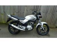 Yamaha ybr 125 low miles