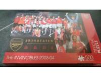 Arsenal invincible puzzle brand new unopened