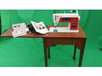 SINGER 6740 Made in West Germany electric sawing machine with table