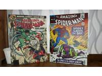 2 x large dc comic pictures