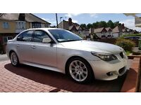 5 SERIES DIESEL SALOON - 525d M Sport 4dr Step Auto start/stop