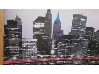 New York picture from Ikea