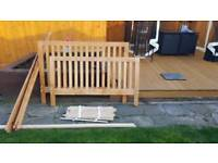 Double 4'6 bed frame