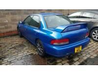 Subaru impreza wrx type ra import
