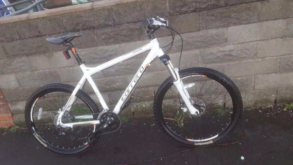 **IMMACULATE** Mens Carrera Kraken Mountain Bike MTB **Great Spec** Hardly Used