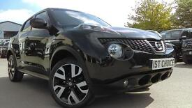 NISSAN JUKE DCI N-TEC A REAL EYEFUL GREAT SPECIFICATION AND LOW TAX (black) 2013