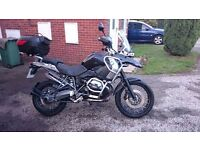 BMW R1200 GS, GPS, ABS, ESP, Cruise Control. Tripple Black