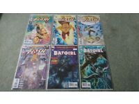 DC Flashpoint Reverse & Kid Flash, Batgirl new comics