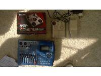 2x Zoom effects pedal + Fostex VF80 job lot