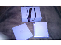 Smythson of Bond St handmade dreams and thoughts notebook