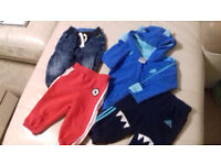 BABY CLOTHES ZARA, ADDIDAS (9-12 MONTHS), JACKET, TRACKSUIT