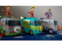 scooby doo mini mystery machine with figures