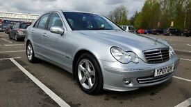 Mercedes-Benz C Class, C200 CDI Avantgarde COMPREHENSIVE MERCEDES SERVICE HISTORY