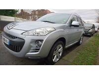 LHD Left hand drive Peugeot 4007 Diesel 7 seater Automatic!!!!