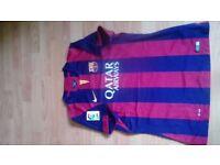 Barcelona FC football t-shirt 2014/2015