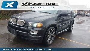 2006 BMW X5 4.8is NAV/ BACK UP / DVD