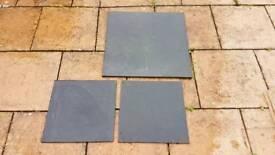 Black Limestone patio slabs